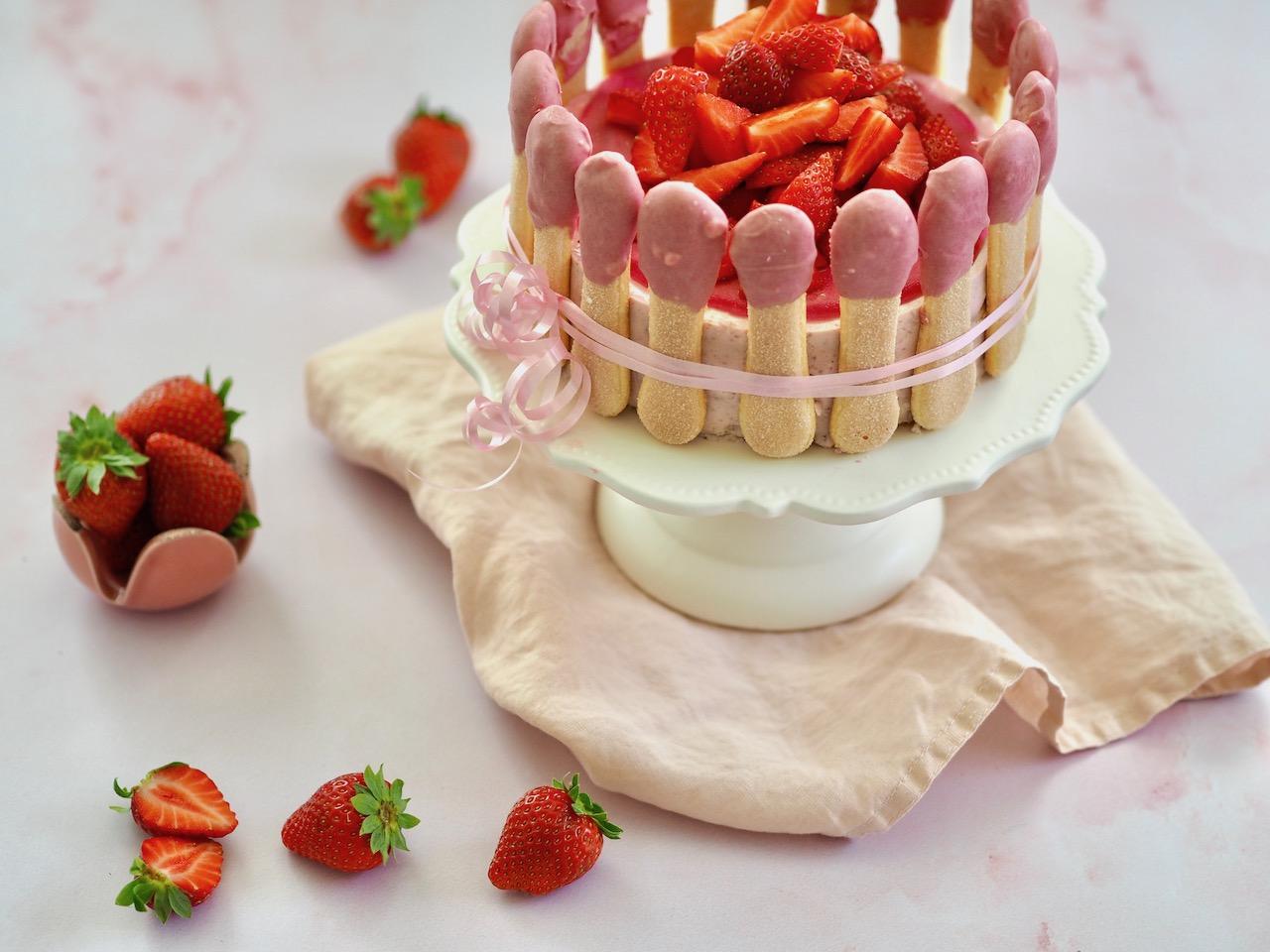 Erdbeer – Tiramisu – Torte