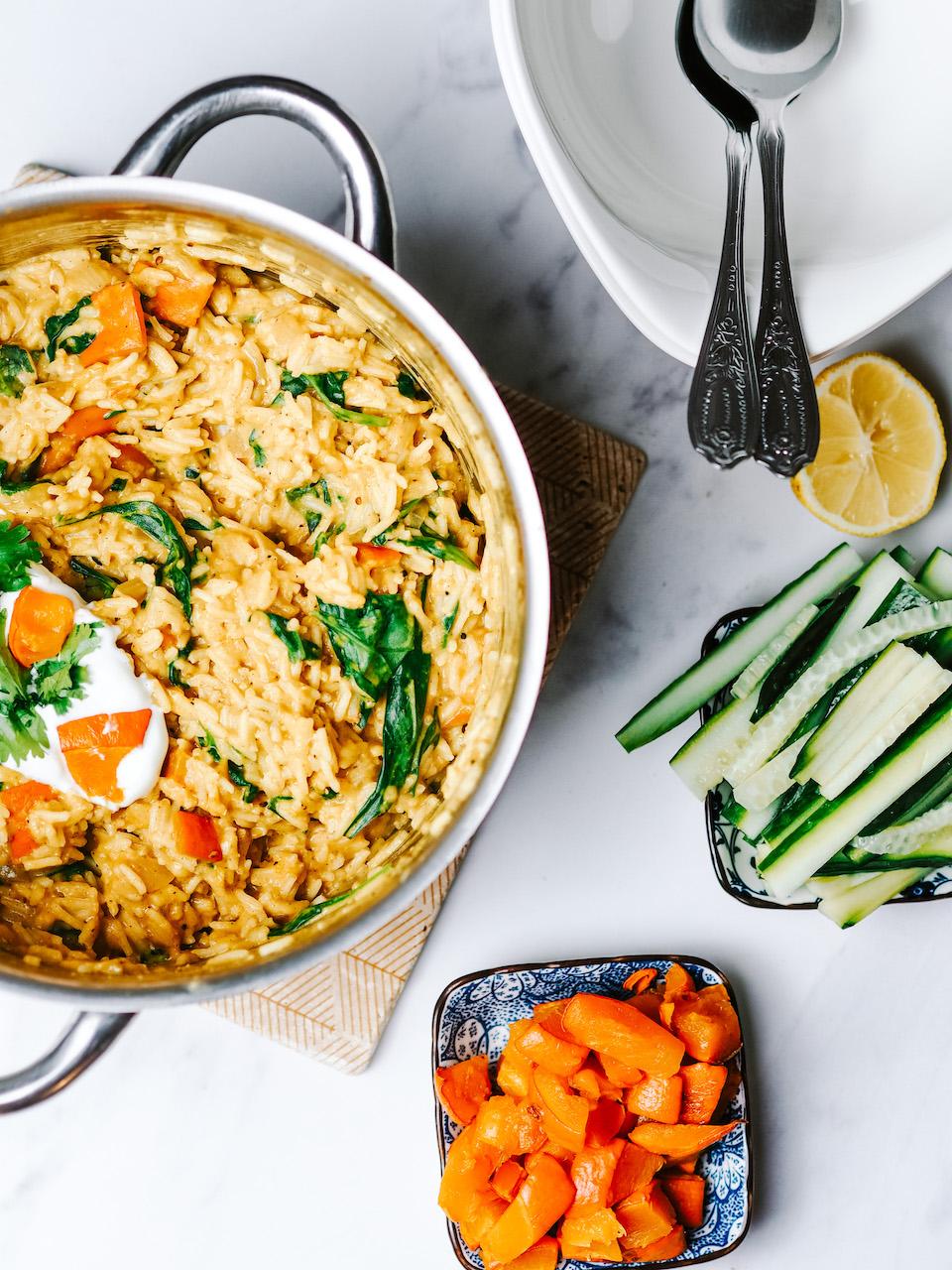 One Pot Orientalischer Veggie-Reis