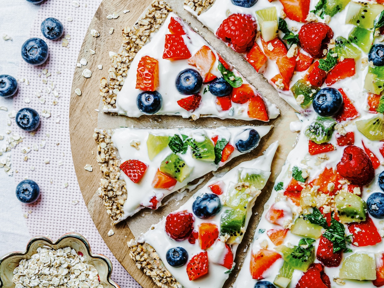 Blitzrezept: Obst-/Frühstückspizza